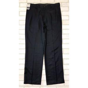 NWT Kenneth Cole Reaction Blue Dress Pants 36X32